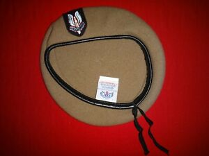 British Army SPECIAL Forces SPECIAL AIR SERVICE SAS Sand Color Beret Never Worn