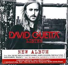 David Guetta - Listen CD 2 Discs