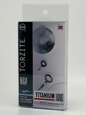 Fuji original T2-ATTG 128 Torzite Ring Titanium  DARK Frame Guide New Free SHIP