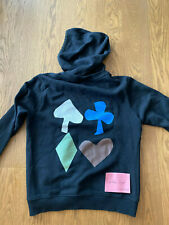 Raf Simons SS16 Rare Ace of Spades Hoodie, Black, Size S