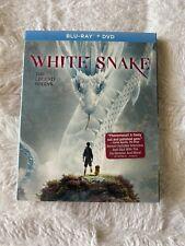 NEW GKIDS WHITE SNAKE (Blu-ray/DVD, 2-Disc Set, 2020) w/ Slipcover