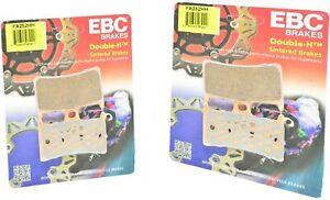 Sintered Double-H Brake Pads Front Set EBC FA252HH Yamaha