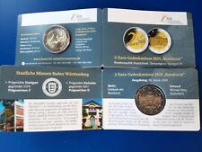 """Deutschland - Coincard 2019 mit der 2 Euro CC """"Bundesrat"""" zur Messe Stuttgart F"""