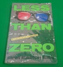 Less Than Zero ***VGC 1st SOFTBACK EDITION!!*** Bret Easton Ellis Simon Schuster