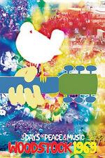 ROCK MUSIC POSTER Woodstock Tie Dye