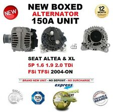FOR SEAT ALTEA XL 5P 1.6 1.9 2.0 TDi FSi TFSi 2004-ON NEW 150A ALTERNATOR UNIT