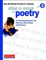 Sing a Song of Poetry: Grade 2: A Teaching Re... by Fountas, Irene  C. Paperback