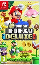 New Super Mario Bros. U Deluxe (SWITCH) NEUF et scellé-Envoi rapide