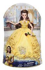 Hasbro Disney Bambola Die Bella und Das Biest im Glanzvollen Abito da Ballo