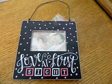 """Love at First Sight Pink Mini Frame 4 1/2"""""""