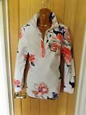 Gorgeous white pink blue floral Mariners Grade Joules shirt top size 14