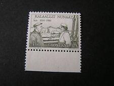 GREENLAND, SCOTT # 135, COMPLETE SINGLE SET 1980 EJNAR MIKKELSEN  ISSUE MNH