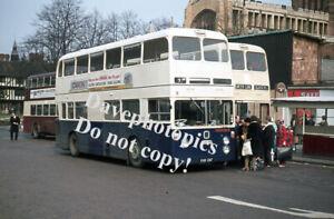 Original 35mm Bus / Coach slide   KWK28F WTL West Midlands 1974
