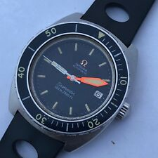 RARE VINTAGE OMEGA SEAMASTER 120 M AUTOMATIC DIVER REF 166.088 PLOPROF HANDS