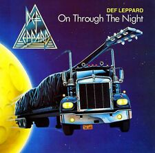 Def Leppard - On Through The Night Vinyl LP Heavy Metal Sticker or Magnet