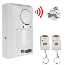Wireless Infrared IR Motion Sensor Home Alarm Security System Remote Control