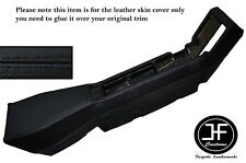 BLACK STITCHING CENTER CONSOLE LEATHER SKIN COVER FITS RENAULT ALPINE GTA V6