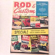 Rod & Custom Magazine 10 Steps To Customize April 1954 062317nonrh