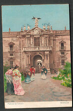 Spain unmailed Rotograph Co post card Fabrica de Tabaco Sevilla