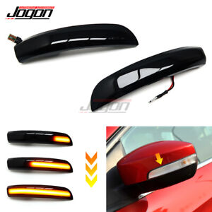 For Ford Kuga Escape EcoSport LED Mirror Sequential Dynamic Turn Signal Light