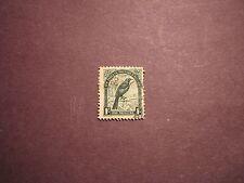 New Zealand Stamp Scott# 196 Parson Bird 1935 P11