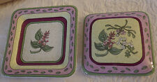 PartyLite P7584 Fusions Decorative Topper & Tray Nib New Party Lite 2 Pieces
