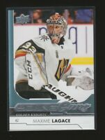 (75996) 2017-18 UPPER DECK YOUNG GUNS MAXIME LAGACE #482 RC