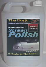 The Dogs Car Valeting Kit Seals and Protects Screen Window Polish 5 LTR