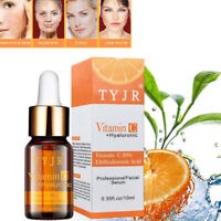Face Serum Vitamin C Hyaluronic Acid Organic Facial Moisturizing Beauty Oil UE