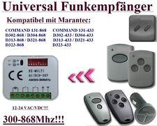 Marantec D343, Digital 339,2, D343, D168, D381, D344 Kompatibel Funkempfänger