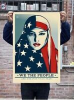 Shepard Fairey Obey Giant We The People Print Poster 24x36 Inches