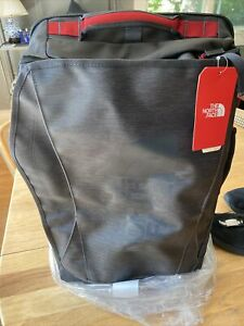 The North Face Rolling Thunder 22 Luggage Carry On TNF Grey/Cind Red  New $269