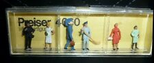 Preiser, Vintage, New Package, Item# 4060, Ho scale, Various Trades People, 6x