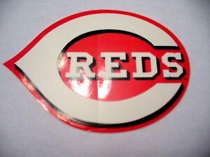 MLB - Cincinnati Reds Sticker - VINTAGE - NEW