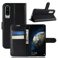 For Huawei P30 Flip Wallet Slot Leather Case/Cover/Card Holder Kickstand Pouch