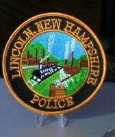 Patch Retired: Lincoln, New Hampshire Police Patch