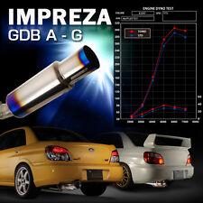 TOMEI EXPREME Ti TITANIUM MUFFLER for SUBARU GDB E-G JDM -440010