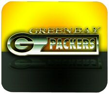 """GREEN BAY PACKERS MOUSE PAD 1/4"""" NOVELTY MOUSEPAD"""