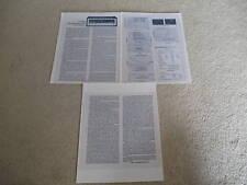 Marantz 4240 QUAD Receiver Review, 3 pgs, 1974, Specs