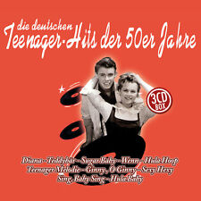 CD 50er anni adolescente hits di vari 3cds con Peter Kraus, Conny Froboess UA