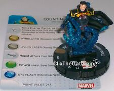 COUNT NEFARIA #048 #48 The Invincible Iron Man Marvel Heroclix Super Rare