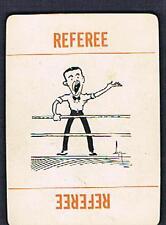 1923 RARE boxing card REFEREE  seldom seen