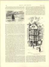 1891 Sir Paul Pinder's House Bishopsgate récemment abattu,
