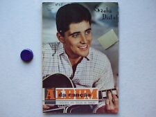 SACHA DISTEL - ALBUM DA CANCAO n.45 NOVEMBER 1966 PORTUGAL REVUE MAGAZINE 67pics