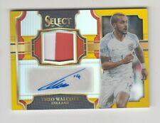 2017-18 Panini Select Soccer Jersey Auto card : Theo Walcott #06/10