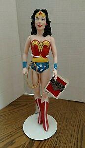 "Wonder Woman Hamilton Presents 14"" Vinyl Figure/DC Comics/With Tag & Stand"