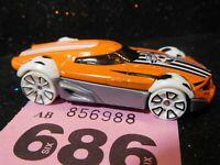Hotwheels 2013 - Bdd12 Football - Orange - (686)