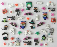 Accessoire ongles : nail art , scrapbooking  , Stickers autocollants Halloween