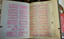 Original 1930 New York City NYC Atlas Linen Map 89 - 96 st 3rd to 5th aves