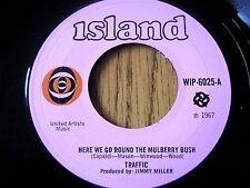 "TRAFFIC - HERE WE GO ROUND THE MULBERRY BUSH  7"" VINYL"
